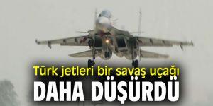 Türk jetleri bir savaş uçağı daha düşürdü