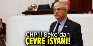 """Kani Beko, """"Mermer ve taş ocakları İzmirlilere ihanettir!"""""""