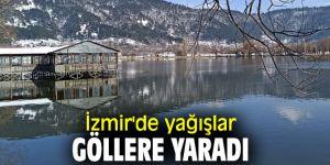 İzmir'de yağışlar göllere yaradı