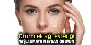 Yaşlanmaya Örümcek ağı estetiği ile meydan okuyun