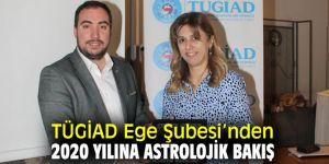 Türkiye Genç İş Adamları Derneği Ege Şubesi'nden 2020 yılına astrolojik bakış