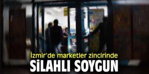 İzmir'de silahlı soygun