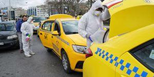 İstanbul taksileri BRC işbirliği ile dezenfekte edildi!
