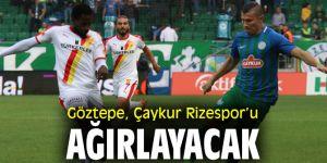 Göztepe, Çaykur Rizespor'u ağırlayacak