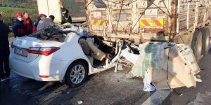 Korkunç kazasda 3 ölü, 2 yaralı!