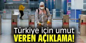 Türkiye için umut veren açıklama!