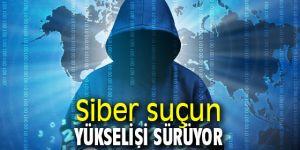 Siber suçun yükselişi devem ediyor!