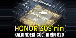 HONOR 30S'nin Kalbindeki Güç: Kirin 820
