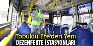 Başkan Çerçioğlu'ndan Yeni Dezenfekte İstasyonları