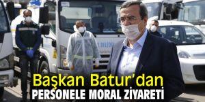 """Başkan Batur, """"Siz görev başındaysanız Konak halkı rahat olur"""""""