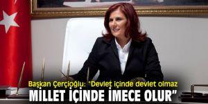Başkan Çerçioğlu'ndan bağış kampanyası açıklaması!