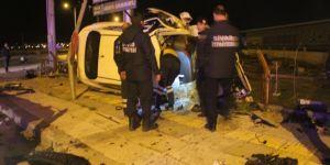 Trafik kazasında polis memuru hayatını kaybetti!