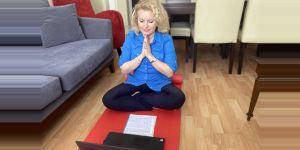 Öğrencilere on-line meditasyon
