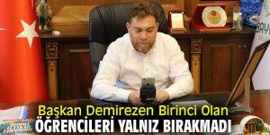 """Başkan Demirezen, """"Bu makamlarda yarın sizler olacaksınız"""""""