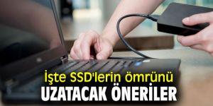 SSD'lerin ömrünü uzatacak öneriler
