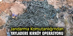 Jandarma Komutanlığı'ndan Yayladere Kırköy Operasyonu