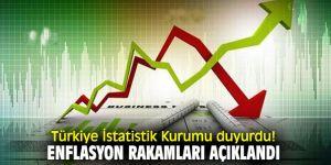 Türkiye İstatistik Kurumu duyurdu! Enflasyon rakamları açıklandı