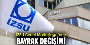 İzmir Su ve Kanalizasyon İdaresi Genel Müdürlüğü'nde bayrak değişimi