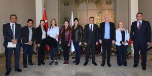 Better Cotton Initivative (BCI) yetkilileri İzmir Ticaret Borsası'nı ziyaret etti