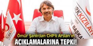 Ömür Şanlı'dan CHP'li Arslan'ın açıklamalarına tepki!