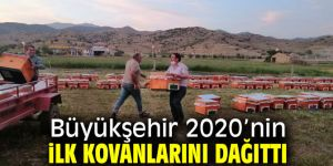 Büyükşehirden 2020'nin ilk kovanları!