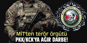 MİT'ten terör örgütü PKK/KCK'ya ağır darbe!