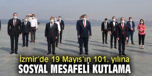 İzmir'de 19 Mayıs kutlandı