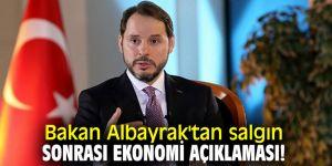 Bakan Albayrak'tan salgın sonrası ekonomi açıklaması!