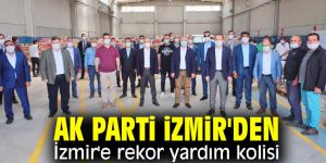 """İl Başkanı Sürekli, """"AK Parti İzmir'in emrindedir"""""""