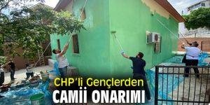 CHP'li Gençlerden Camii Onarımı