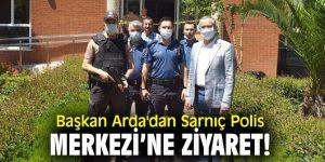 Başkan Arda'dan Sarnıç Polis Merkezi'ne ziyaret!