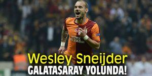 Wesley Sneijder, Galatasaray yolunda!