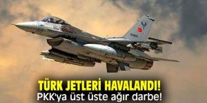 Bakanlık açıkladı! PKK'ya üst üste ağır darbe!