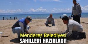 Menderes Belediyesi Sahilleri hazırladı!