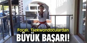Foçalı, Taekwondoculardan büyük başarı!