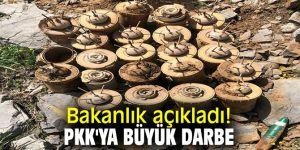 Bakanlık açıkladı! PKK'ya büyük darbe
