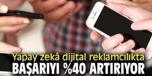 Yapay zekâ başarıyı %40 artırıyor!