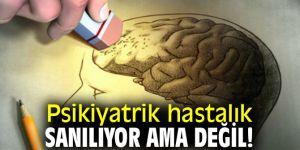 Davranışsal bunama mı, psikiyatrik hastalık mı?