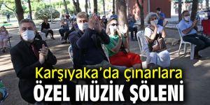 Karşıyaka'da 65 yaş ve üzerine özel müzik şöleni