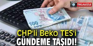 CHP'li Beko TES'i gündeme taşıdı!
