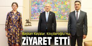 Başkan Kayalar, CHP lideri Kılıçdaroğlu'nu Ziyaret Etti