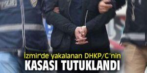 İzmir'de yakalanan DHKP/C'nin kasası tutuklandı