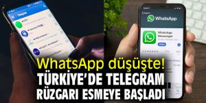 WhatsApp düşüşte! Türkiye'de Telegram rüzgarı esmeye başladı