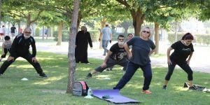 Bayraklı'da spor aktiviteleri başladı