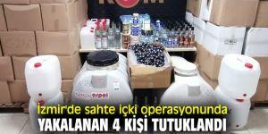 Sahte içki operasyonunda yakalananlar tutuklandı!