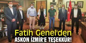 Fatih Genel'den Askon İzmir'e teşekkür!