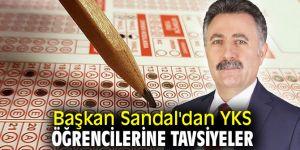 Başkan Sandal'dan YKS öğrencilerine tavsiyeler
