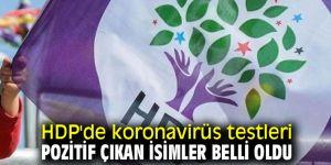 HDP'de o isimlerin koronavirüs testleri pozitif çıktı!