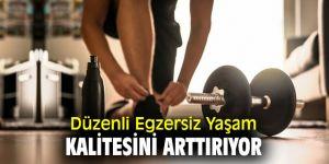 Düzenli Egzersiz Yaşam Kalitesini Arttırıyor