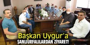 Başkan Uygur'a Şanlıurfalılardan ziyaret!